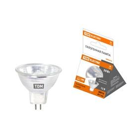 Лампа галогенная TDM MR16, GU5.3, 50 Вт, 12 В Ош