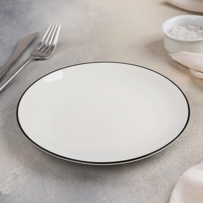 Тарелка «Фронтьер», 20 см, цвет белый - фото 308066926