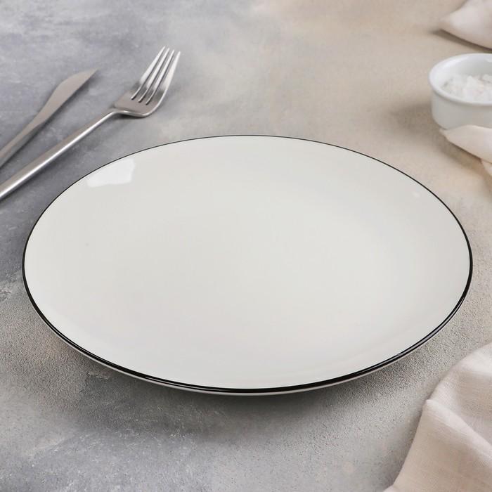 Тарелка «Фронтьер», 25 см, цвет белый - фото 308066930