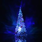 """Игрушка световая """"Ёлочка радуга"""" (батарейки в комплекте) 12 см, 1 LED, RGB"""