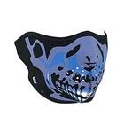 Маска BLUE CHROME SKULL, ZANHeadgear WNFM024H