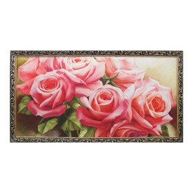 "Гобеленовая картина ""Букет роз"" 65х123 см"
