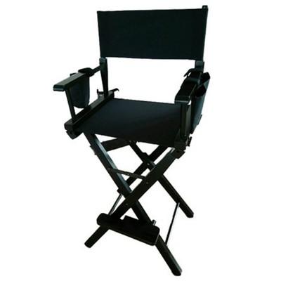 Разборный стул визажиста, из дерева, сумки для мелочей, 57*40*118