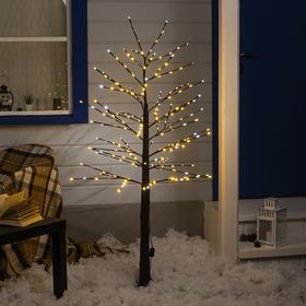 Дерево светодиодное 1.5 м, 224LED, 220V, эффект мерцания, БЕЛЫЙ