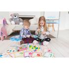 Развивающая игра шнуровка «Бусины» с карточками «Учим счёт, цвета и формы» - фото 105495622