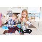Развивающая игра шнуровка «Бусины» с карточками «Учим счёт, цвета и формы» - фото 105495623