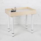 Стол для рисования песком, 35 × 50 см, фанера, оргстекло, подсветка белая