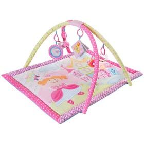 Развивающий коврик «Принцесса», 5 игрушек