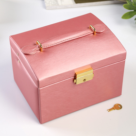 Leatherette box for jewelry,