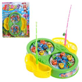 """Fishing """"Butterfly"""", 18 fish, 2 fishing rods, Groovy, MIX"""