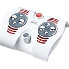 Массажер для ног Sanitas SFM33, 30 Вт, 2 режима, 8 роликов, 4 головки, ИК-прогрев
