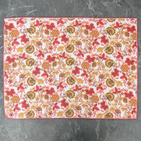 Mat for drying dishes 38x51 see the