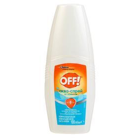 Аква-спрей от комаров OFF!, охлаждающий эффект, 100 мл