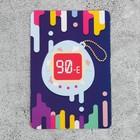 """Magnet vinyl """"Tamagotchi, 90"""", 90*60 mm"""