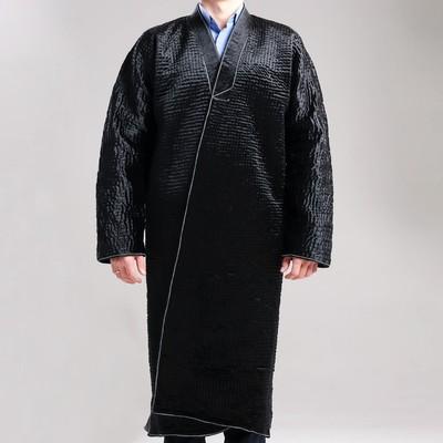 Чапан узбекский мужской черный