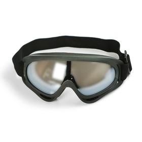 Glasses, glass chrome, black