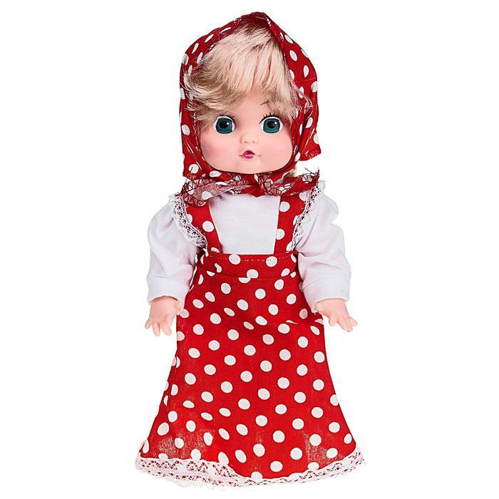 Кукла озвученная «Сашенька», 30 см, МИКС