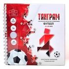 Магнитная головоломка «Танграм. Футбол»
