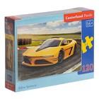 Пазл «Жёлтый спорткар», 120 элементов