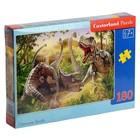"Пазл 180 эл. ""Битва динозавров"" В-018413"