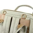 Рюкзак женский, для мамы и малыша, модель «Сумка-рюкзак», цвет жёлтый - фото 969916