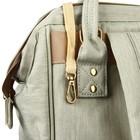 Рюкзак женский, для мамы и малыша, модель «Сумка-рюкзак», цвет жёлтый - фото 969917