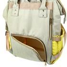 Рюкзак женский, для мамы и малыша, модель «Сумка-рюкзак», цвет жёлтый - фото 969915