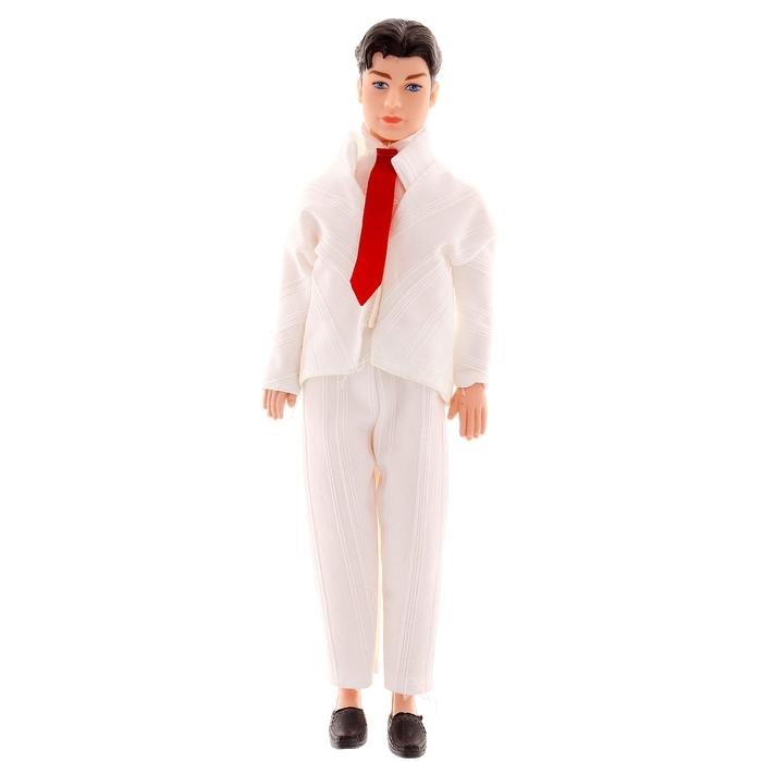 Кукла модель «Ден» в костюме, МИКС