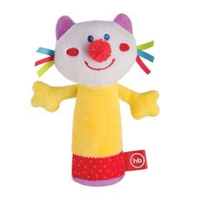 Игрушка с пищалкой Happy Baby «Кот»