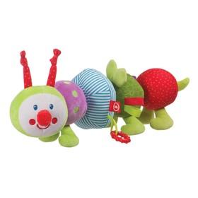 Игрушка-трансформер развивающая Happy Baby «Гусеница»