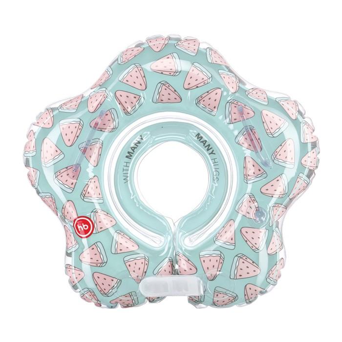 Круг для купания Happy Baby Aquafun, арбуз