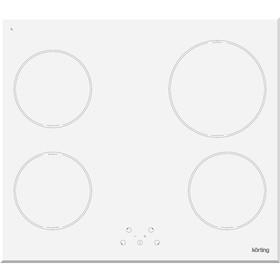 Индукционная варочная панель Körting HI 64021 BW, 4 конфорки, режим Booster, 57.5 см, белая   403834