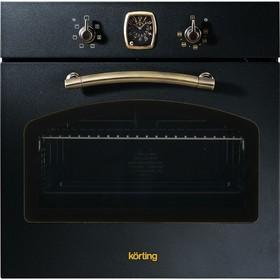 Духовой шкаф Körting OKB 460 RN, электрический, 64 л, класс А, чёрный