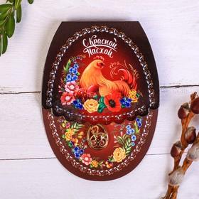 "Easter Pendant ""Zhostovo"", 11 x 8 cm"