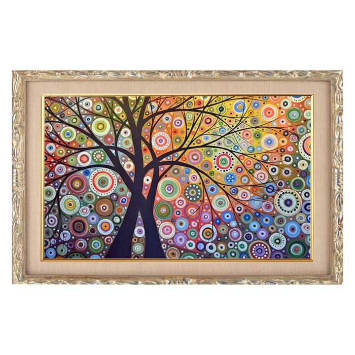 """Алмазная мозаика """"Райский сад"""" 29*20см, 22 цвета"""