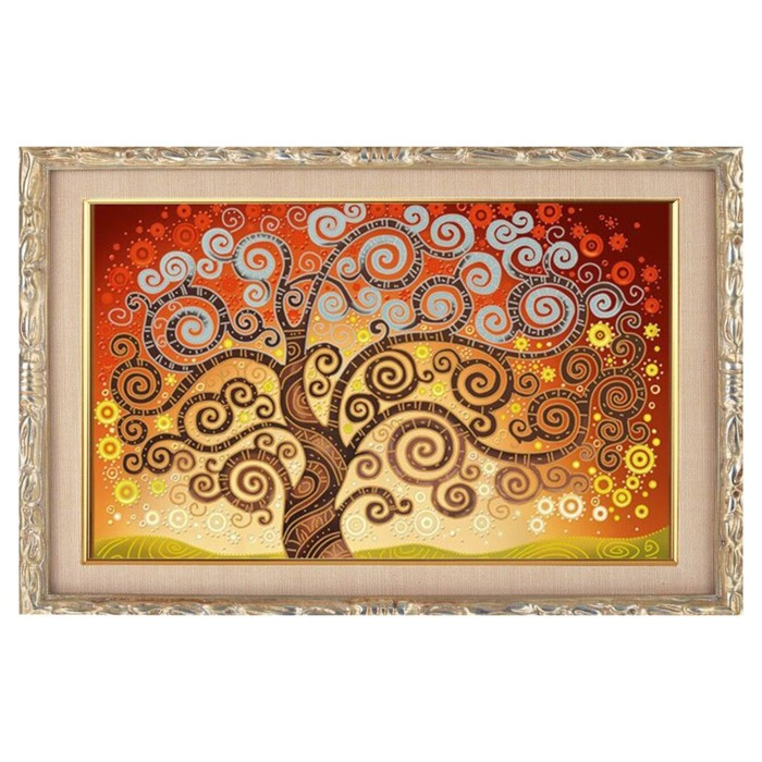 """Алмазная мозаика """"Дерево счастья"""" 29*20см, 23 цвета"""