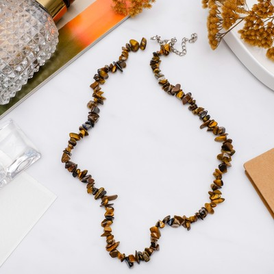 "Beads little small ""Tiger's eye"", 45cm"