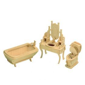 Сборная деревянная модель «Ванная комната»