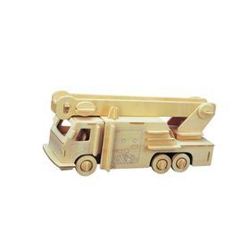 Сборная деревянная модель «Пожарная машина»