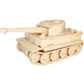 Сборная деревянная модель «Танк. Тигр МК-1»