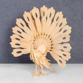 Сборная деревянная модель «Павлин»