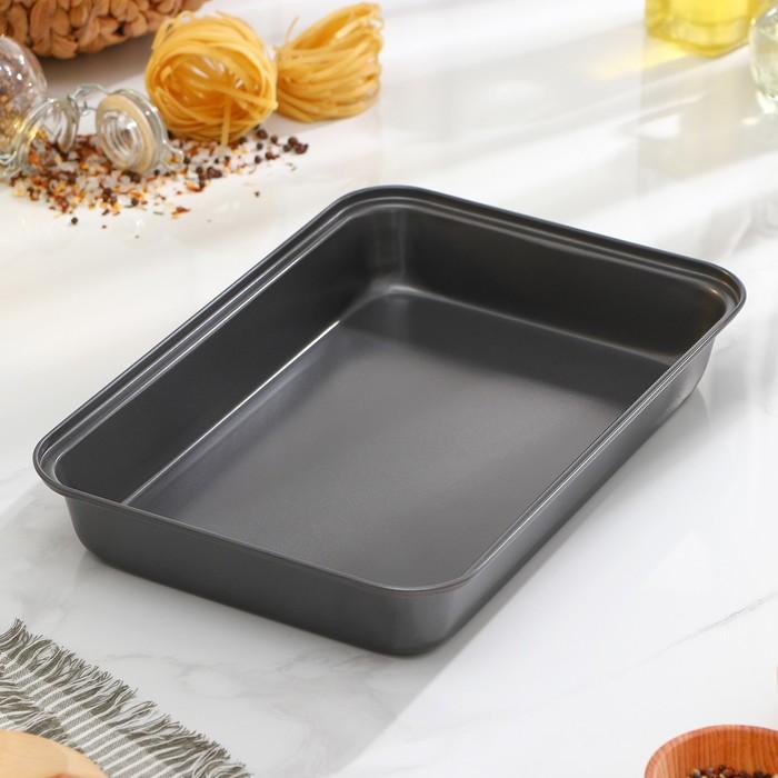 """Baking tray with a/C coating """"Rectangle. Jacqueline"""" 32х22х6,5 cm"""