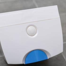 Диспенсер бумажных полотенец в листах, 17×12×15,5, пластиковый, цвет белый - фото 8132606