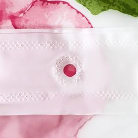 """Shower curtain 180×180 cm """"Aquarelle"""", EVA"""