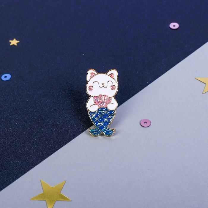 "Значок ""Кот"", 8 х 12 см - фото 504814657"