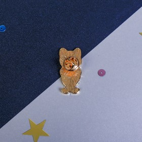 Брошь «Кот», 8 х 12 см - фото 7476256