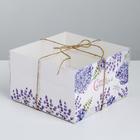 Коробка для капкейка «Самой прекрасной», 16 × 16 × 10 см