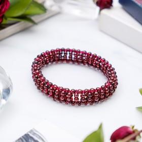 Bracelet Granat braid