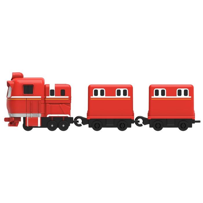 Паровозик «Альф», с двумя вагонами