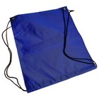 Рюкзак- мешок для обуви, со шнурком, цвет синий